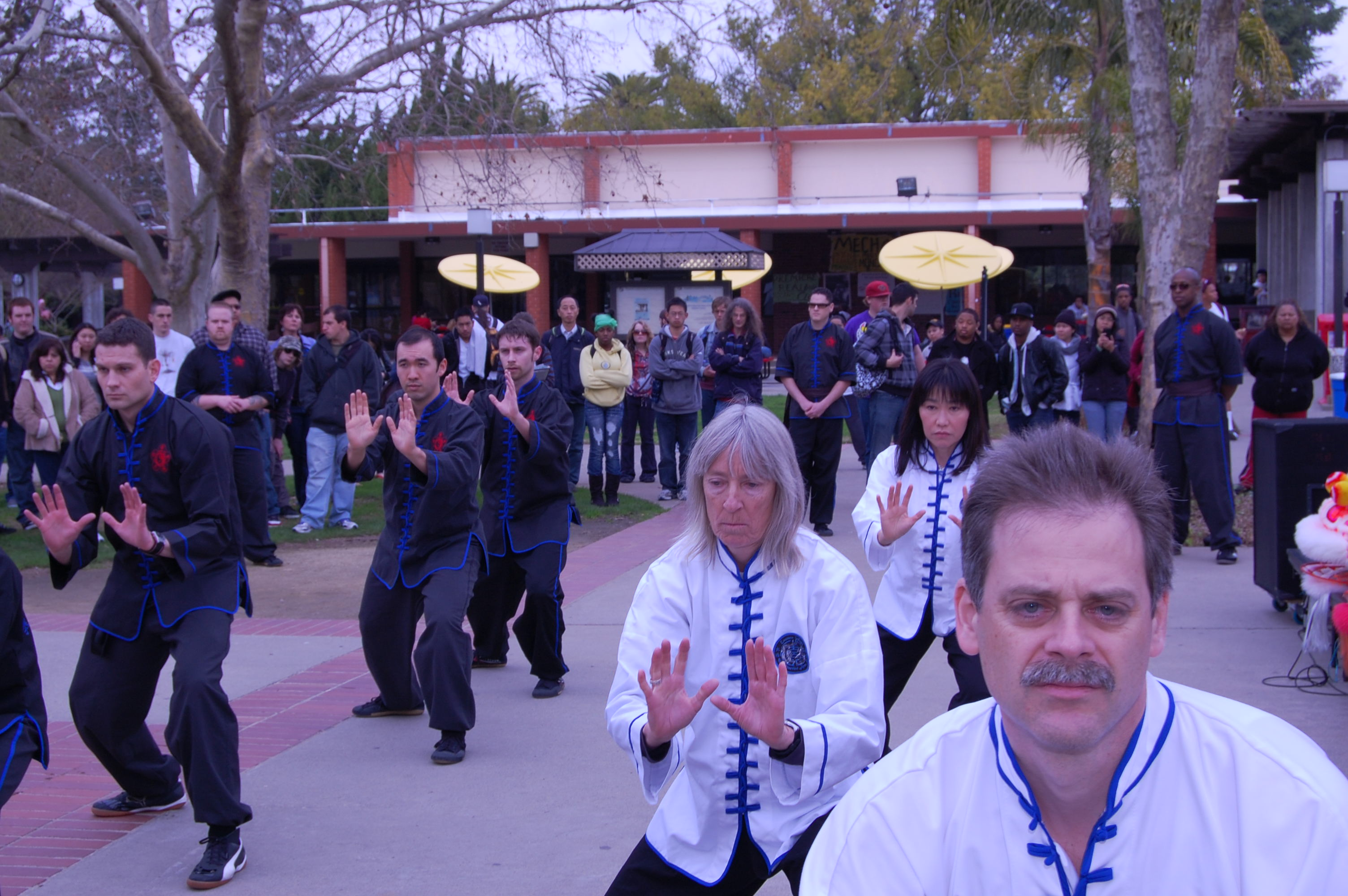 Eastern Ways members practice Yang-style Tai Chi Chuan.