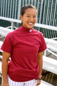 Kathy Fong has an itch to pitch
