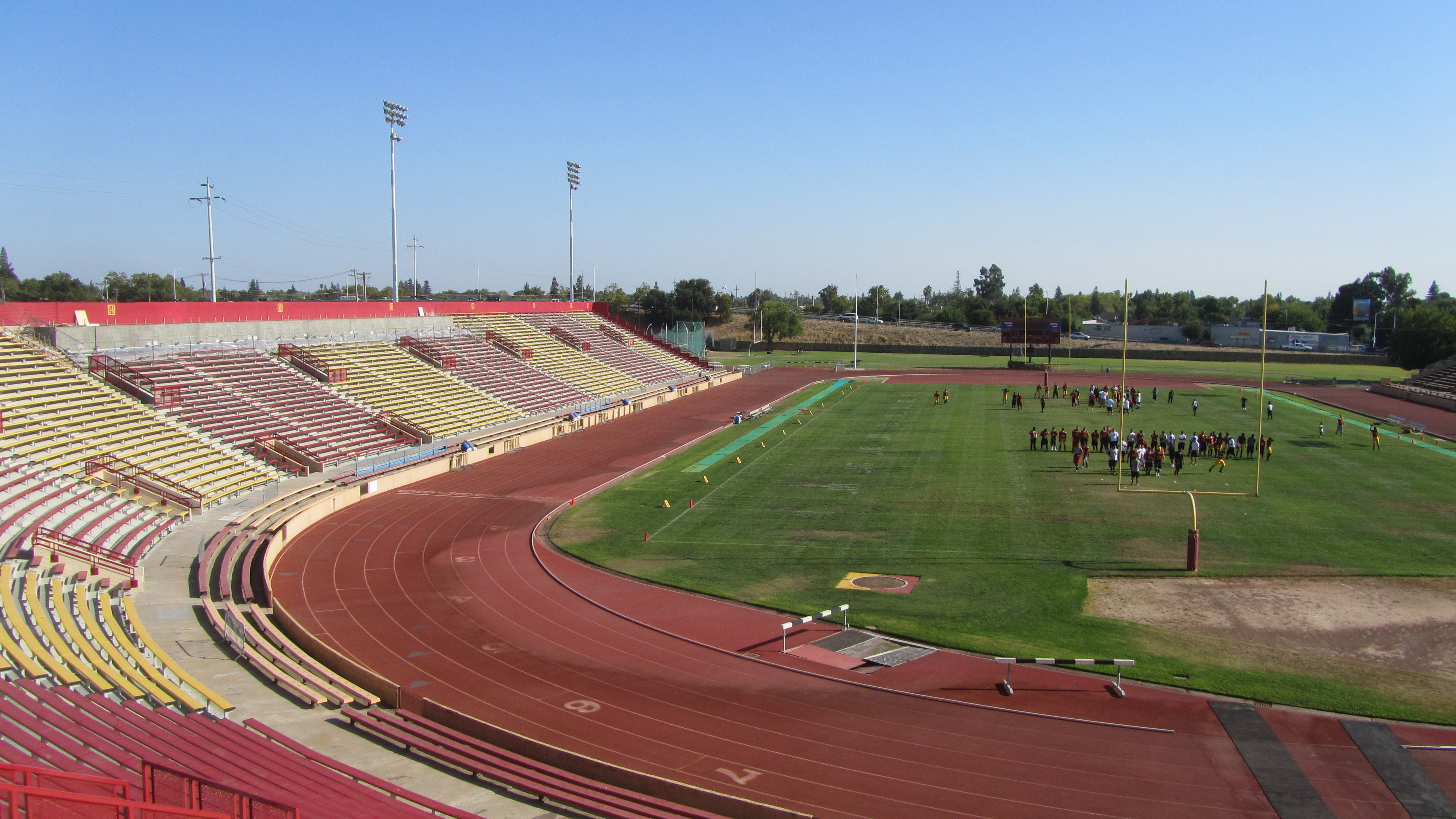 Hughes Stadium gets a makeover