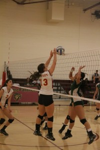 Panther volleyball success stems from fierce practice
