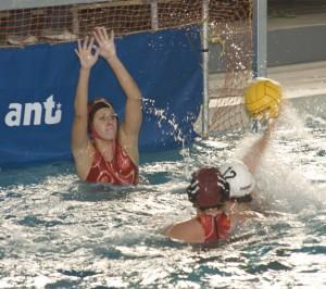 Women's water polo misses net against Sierra