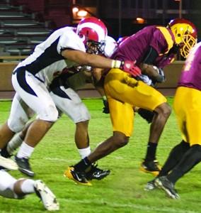 Wide receiver thrives on teamwork