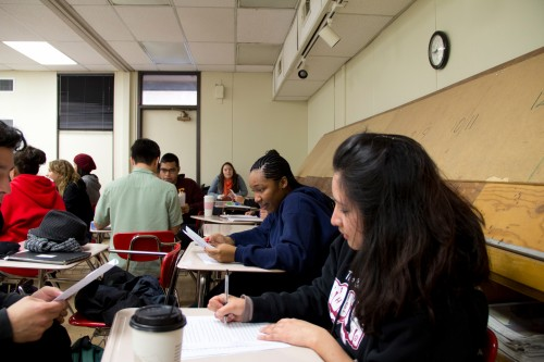 Picture of Sac City Students in Classroom