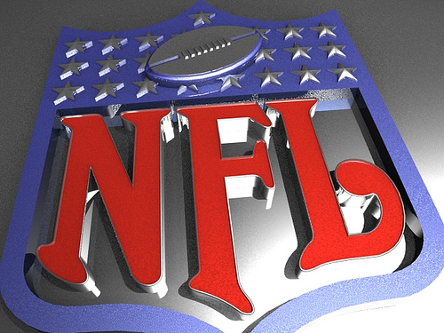 National Football League insignia.