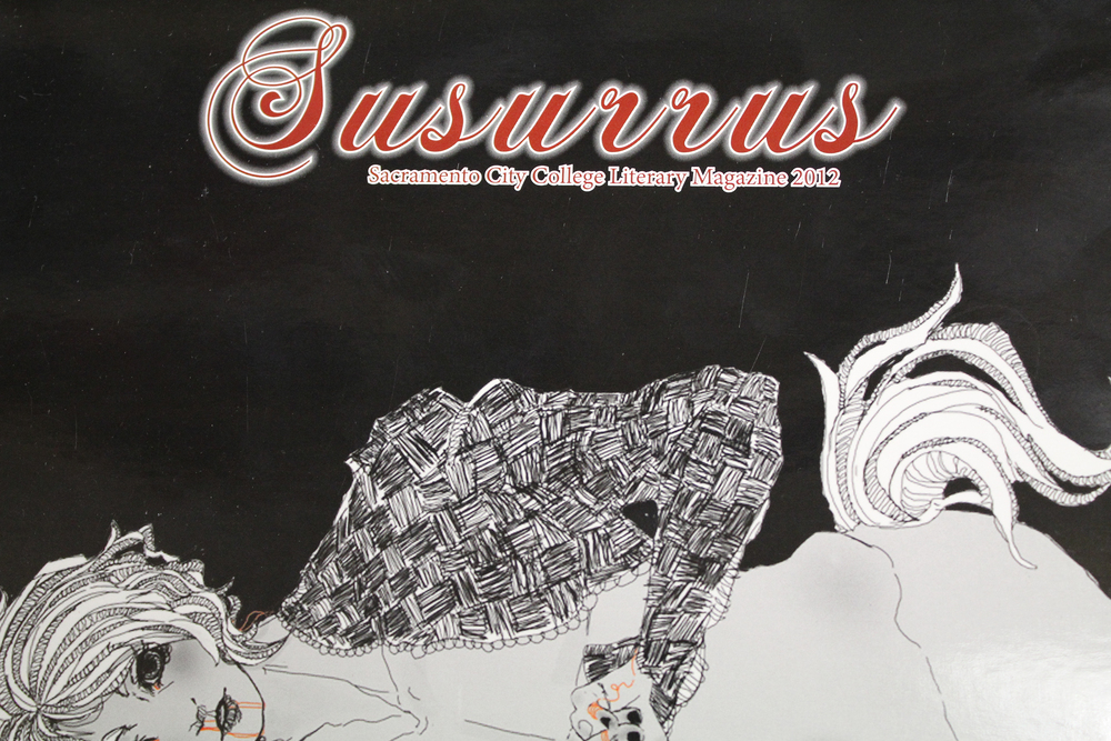 Susurrus cover from Spring semester 2012.