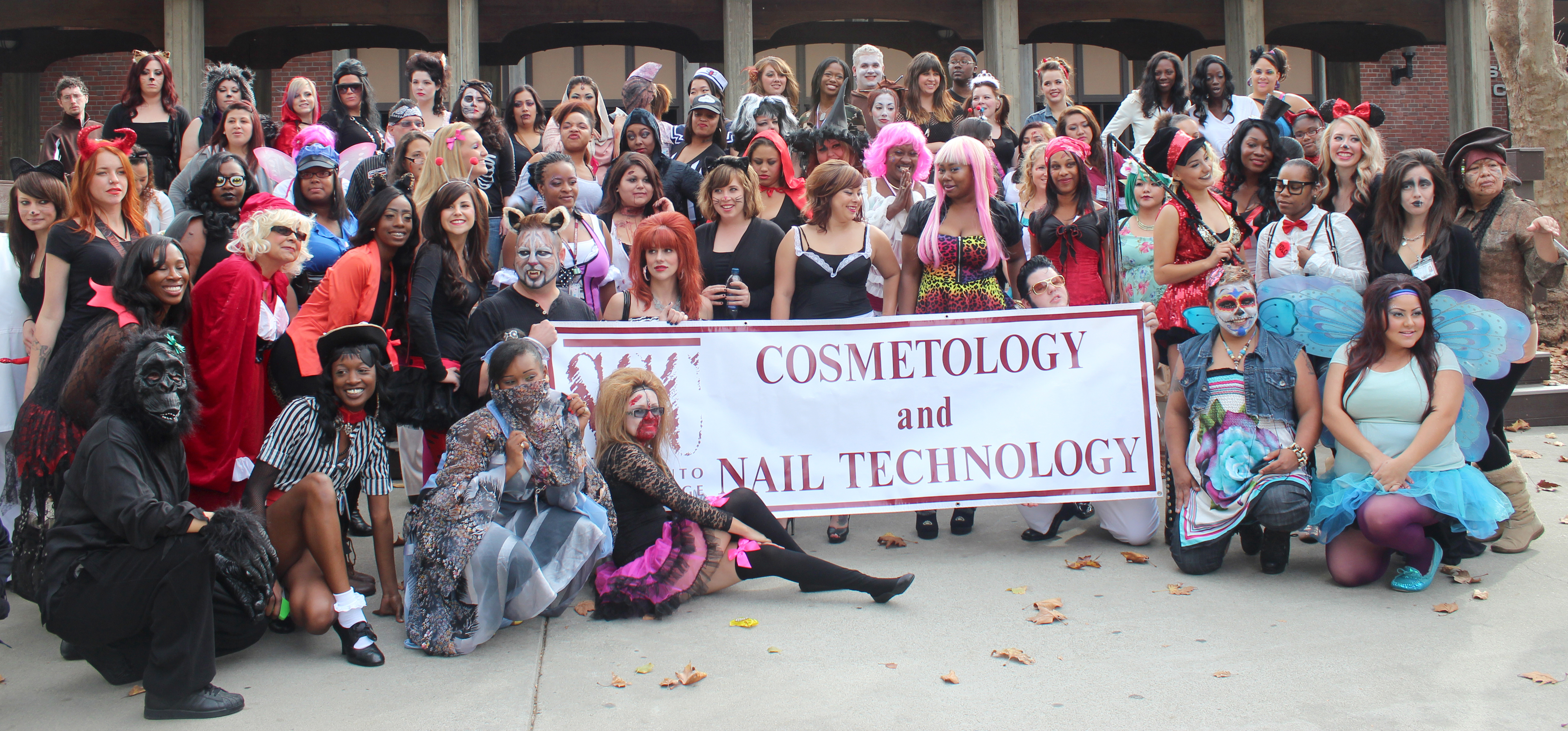 Cosmopolitan students dressed up and through a parade  at City College in celebration of Halloween. Jessica Rine | jessicarineexpress@gmail.com