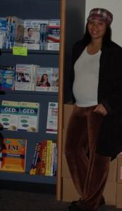 Pushing through school while pregnant