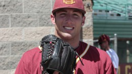 Panthers pitcher Dan Sayles was awarded the CCCAA Scholar Athlete of the Year Award for 2013. Sayles now pitches with the University of Miami Hurricanes. Courtesy photo