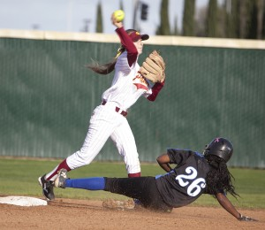 Panther softball infield shows skill, leadership