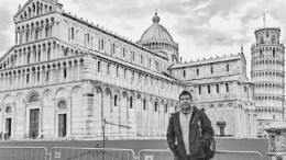 City College biology major Luis Rodriguez traveling abroad in Florence, Italy. Photo provided by Rodriguez