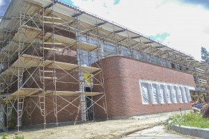 New building on schedule for completion