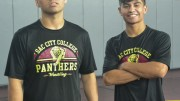 The Landeros brothers Jorge (left) and Albert (right) came to City College as a package deal according to Coach Dave Pacheco. Photo by Gabrielle Smith // Photo Editor // gsmithexpress@gmail.com