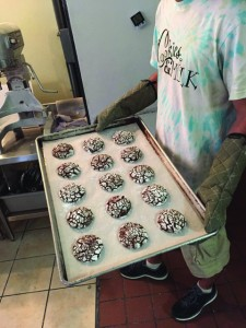 Sweets delivered directly to locals' doors