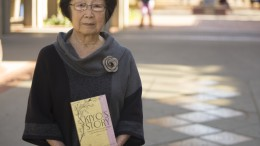 Former Sacramento City College student Kiyo Soto, writes a book about her time in a Japanese Internment Camp.  Photo by Evan E. Duran evaneduran@gmail.com