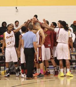 Men's and women's basketball lose to Santa Rosa