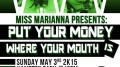 Put Your Money Where Your Mouth Is, an event hosted by City College's student body president.