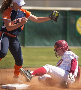 City College softball splits doubleheader with West Valley College
