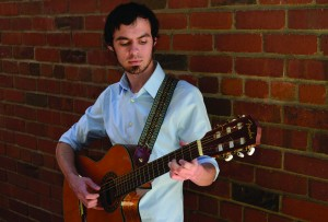 Student performer illuminates the stage on piano, bass, drums or guitar