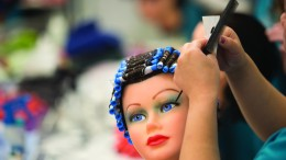 Sacramento City College's Cosmetology Department.  Evan E. Duran // evaneduran@gmail.com
