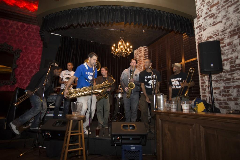 Elements Brass Band is a 13 piece band based out of Sacramento, California.  Evan E. Duran // Evaneduran@gmail.com