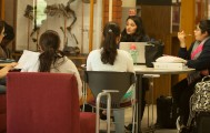 City College nursing students studying for finals in Mohr Hall May 13, 2015. Vanessa Nelson | Staff Photographer
