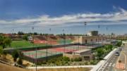 Sacramento City College sports facilities -- Photo by Robert McClintock (c) 2010 by Robert McClintock ---