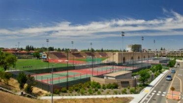 Sacramento City College sports facilities -- Photo by Robert McClintock (c) 2010 by Robert McClintock ---