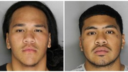 Charlie Hola, left, and Tevita Kaihea, right, arrested as suspects in Sept. 3 shooting. (Photo Courtesy: Sacramento Police Department)
