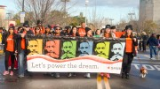 SMUD employees at the MLK March at City College. Barbara J. Williams, Staff Photographer. BarbarajExpress@gmail.com