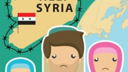 Illustration taken from http://www.vecteezy.com/vector-art/98791-help-syria-refugee-vector.