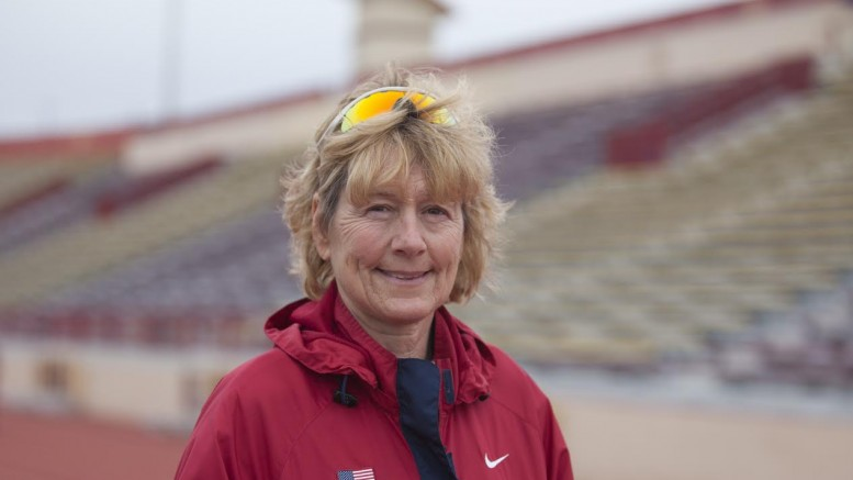 City College track and field coach Lisa Baudin is set to retire this year. Baudin has been with the college since 1992.  Photo by Vanessa S. Nelson • vanessanelsonexpress@gmail.com