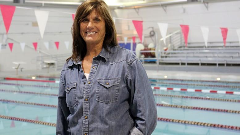 City College aquatics professor Connie Carson. Julie Jorgensen, Photo Editor. | juliejorgensenexpressgmail.com