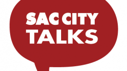 Logo taken from Sac City Talks Facebook page.