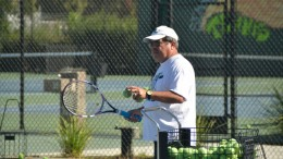 After decades of reporting for KCRA 3 and KXTV (Channel 10), Rich Ibarra now coaches tennis at St. Mary's High School in Stockton, Calif. Christopher Williams, Staff Photographer. | chrisWexpress@gmail.com