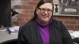 Dr. Molly Springer was hired by City College this year as the first full-time dean of Student Equity, Success, Support and Student Development. Photo by Vanessa S. Nelson. | vanessanelsonexpress@gmail.com