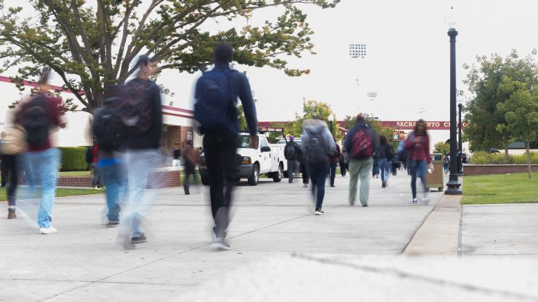 City College students urged to be on alert after reports of a male on campus exposing himself.  Hector Flores | Staff Photographer | hectorfloresexpress@gmail.com