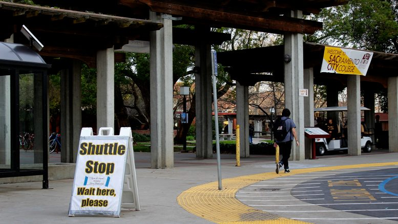 City College offers a nighttime shuttle for students and faculty. The shuttle runs from 5 p.m. until 10 p.m. Monday through Thursday. Pedro Santander | Staff Photographer | psantander.express@gmail.com