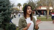 City College student Puneet Purewal reacts to Donald Trump's presidency. In light of President Trump's election she said will be paying closer attention to politics. | Photo by Pedro Santander · psantander.express@gmail.com     City College student Puneet Purewal reacts to Donald Trump's presidency. In light of President Trump's election she said will be paying closer attention     to politics. Pedro Santander | Staff Photographer | psantander.express@gmail.com