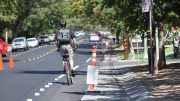 Cyclists are biking to campus. It's a cheaper alternative for Sac City Students. Vanessa Nelson  | Photo Editor | vanessaneslonexpress@gmail.com