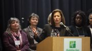 City College alum, Chief Justice Tani Cantil- Sakauye, receives California College distinguished alumni award. March 5, 2017. Photo by Vanessa S. Nelson | Photo Editor | vanessanelsonexpress@gmail.com