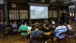 City College students participating in a video game tournament Tuesday in the Student Center hosted by the Games Club.  Bobby Castagna   Staff Writer    bcastagna.express@gmail.com