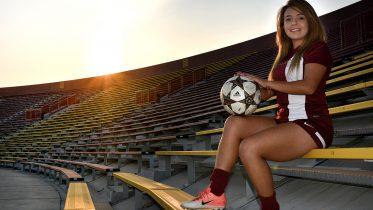 City College midfielder Jessica Camacho (#7) at Hughes Stadium before the Panthers face off against Sierra Tuesday. Jason Pierce   Photo Editor   jpierce.express@gmail.com