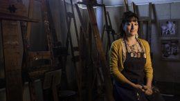 City College art professor Gioia Fonda.  Bobby Castagna | Staff Photographer | bcastagna.express@gmail.com