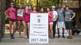 City College Women's Cross Country team wins Big 8 Conference for the second straight year at Oak Grove Regional Park on Oct. 27th. ©2017 Dianne Rose