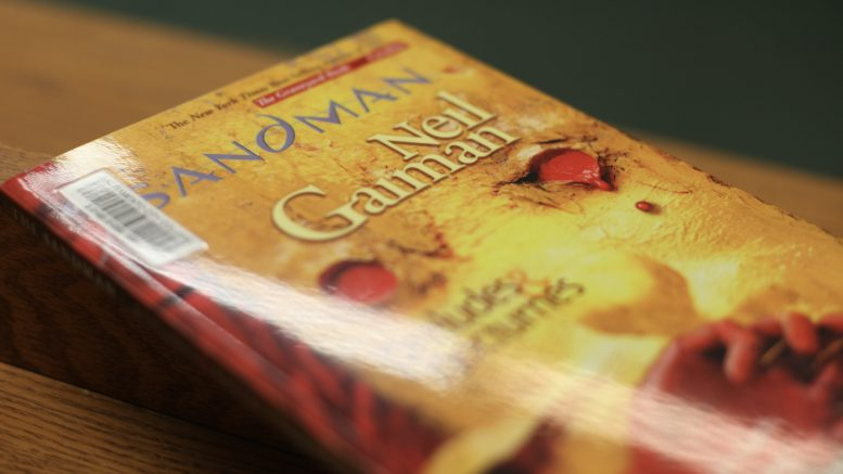 Sandman, a graphic novel by Neil Gaiman, can be found in the City College library and is currently available to borrow. Ulysses Ruiz | Staff Photographer | uruiz.express@gmail.com