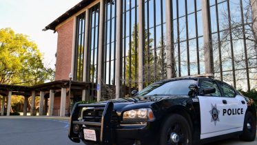 The Los Rios Police Department patrols City College Feb. 1 | Photo by Anastasia Jones | Staff Reporter | anajones.express@gmail.com