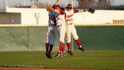City College outfielders celebrate after the win the game against Chabot College at Union Stadium on Feb. 2nd. The Panthers are 4-1 and ranked fifth in the California pre-season baseball polls. Photo by Dianne Rose dianne.rose.express@gmail.com