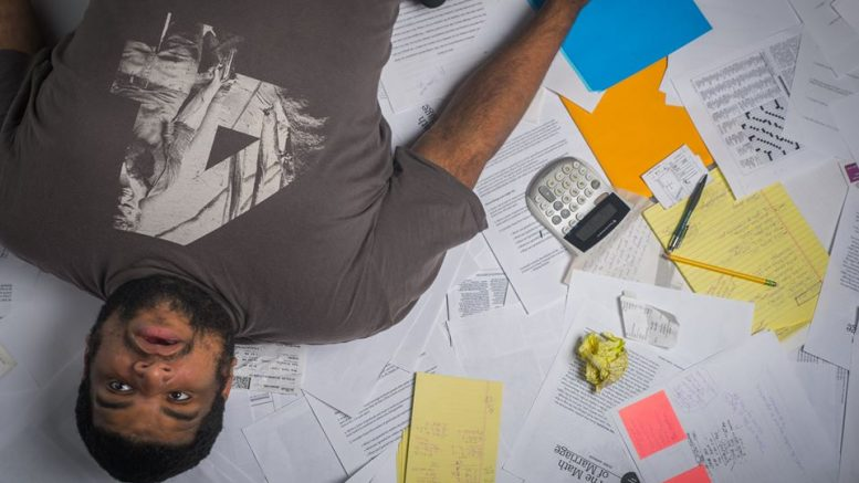 When you've got a full time load at City College the hassle of doing your taxes is the last thing on your mind. | Photo illustration by Jackson Durham | Staff Photographer | Jcmdurham.express@gmail.com